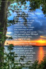 """A Fallen Limb"" Free Printable Poem {Memorial Poem}"