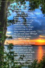 """A Fallen Limb"" Free Printable Poem {Memorial Poem}"