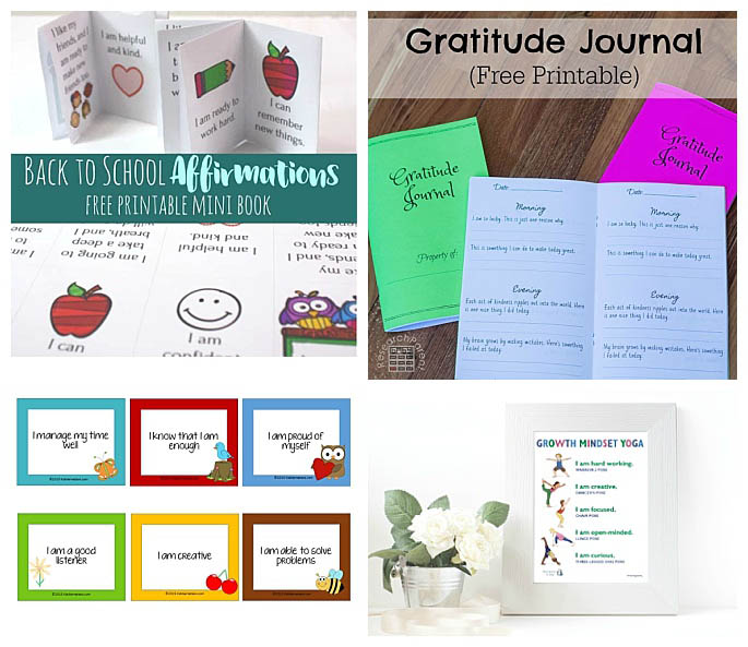 Free Growth Mindset Printables for Kids
