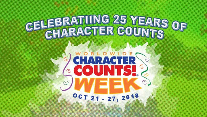Celebrating 25 Years of Character Counts