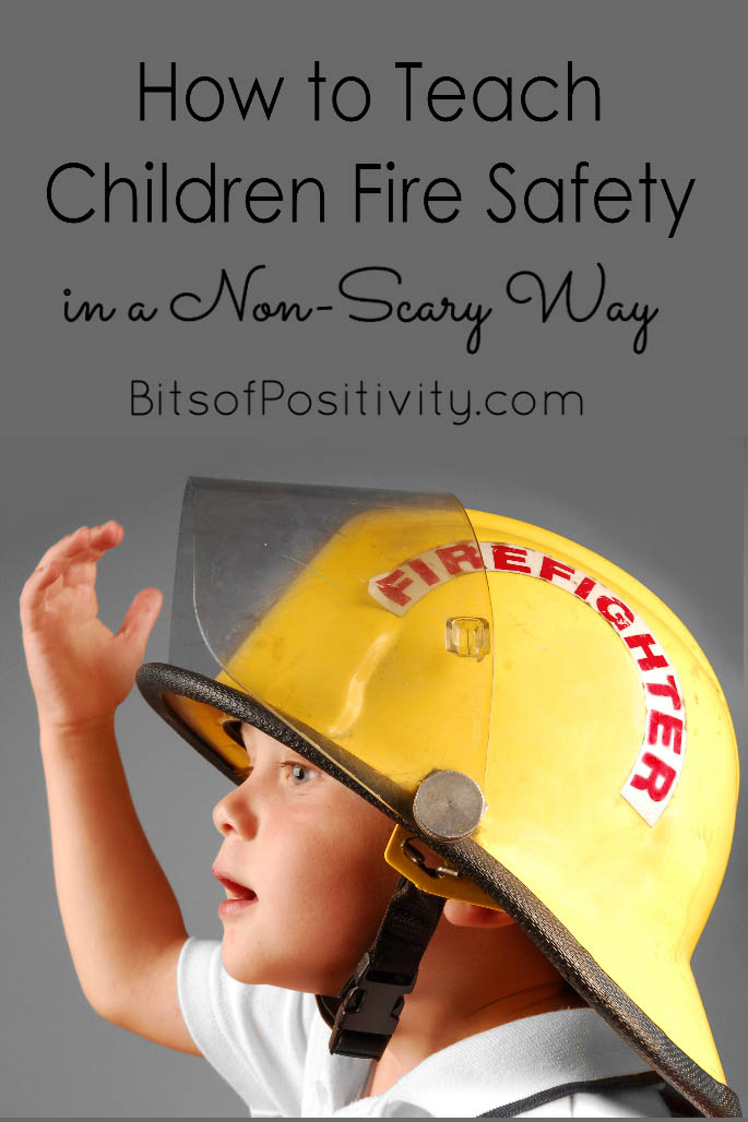 How to Teach Children Fire Safety in a Non-Scary Way
