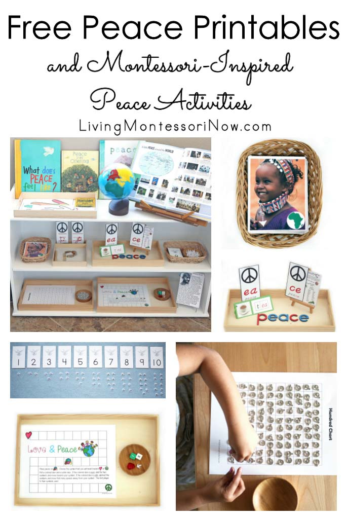 Free Peace Printables and Montessori-Inspired Peace Activities