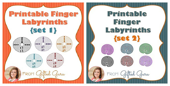 Free Printable Finger Labyrinths