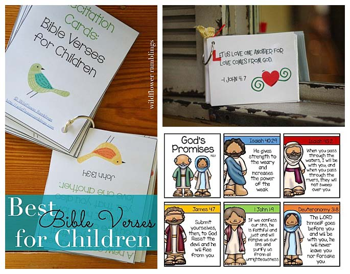 Free Scripture Cards for Kids