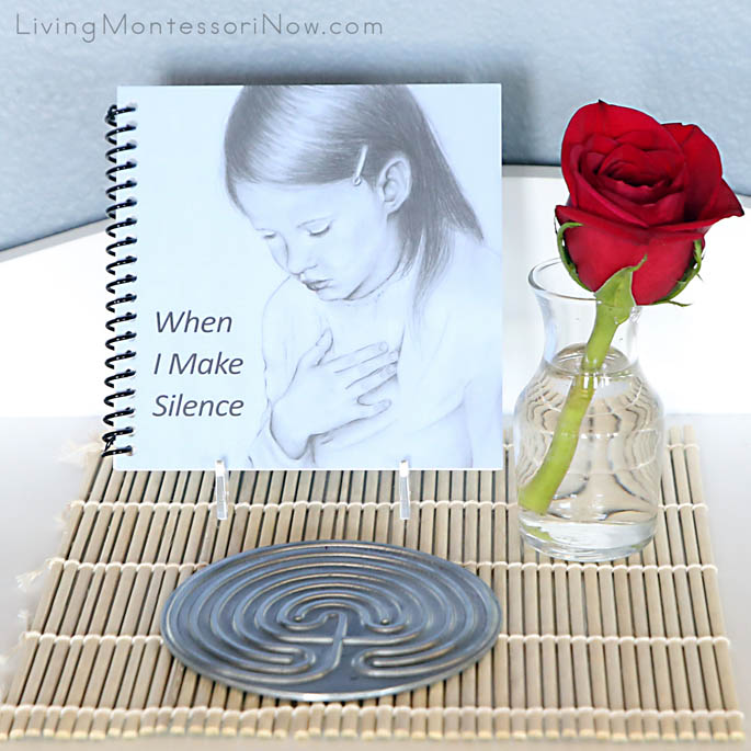 Montessori Peace Activity with Mindfulness Book