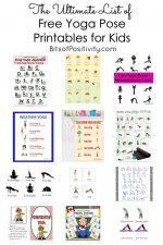 The Ultimate List of Free Yoga Pose Printables for Kids {Mindfulness Resources}