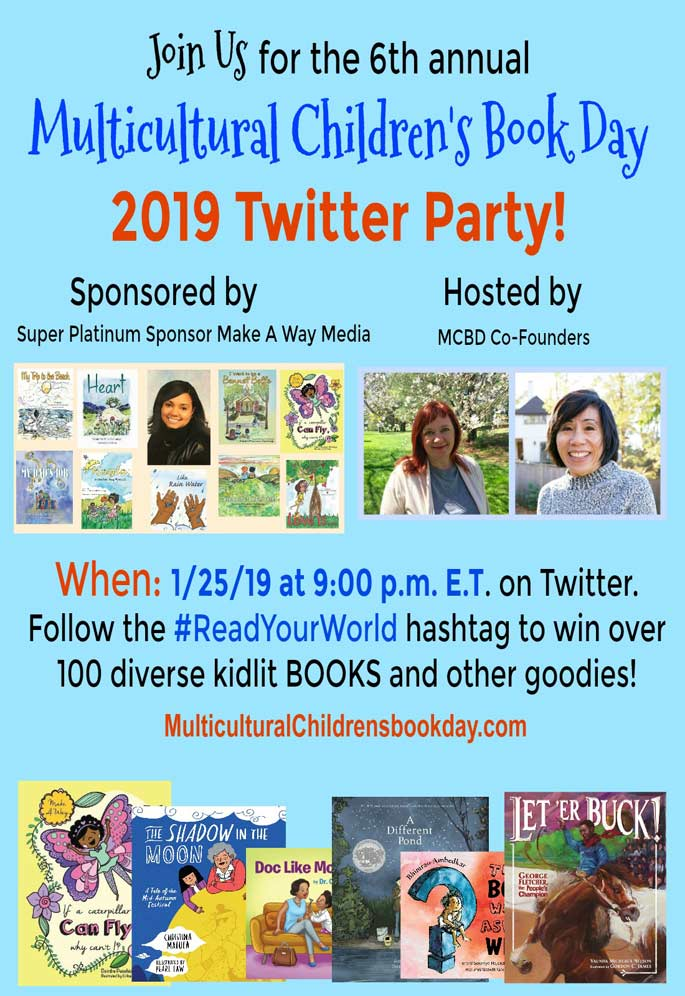 Multicultural Children's Book Day 2019 Twitter Party