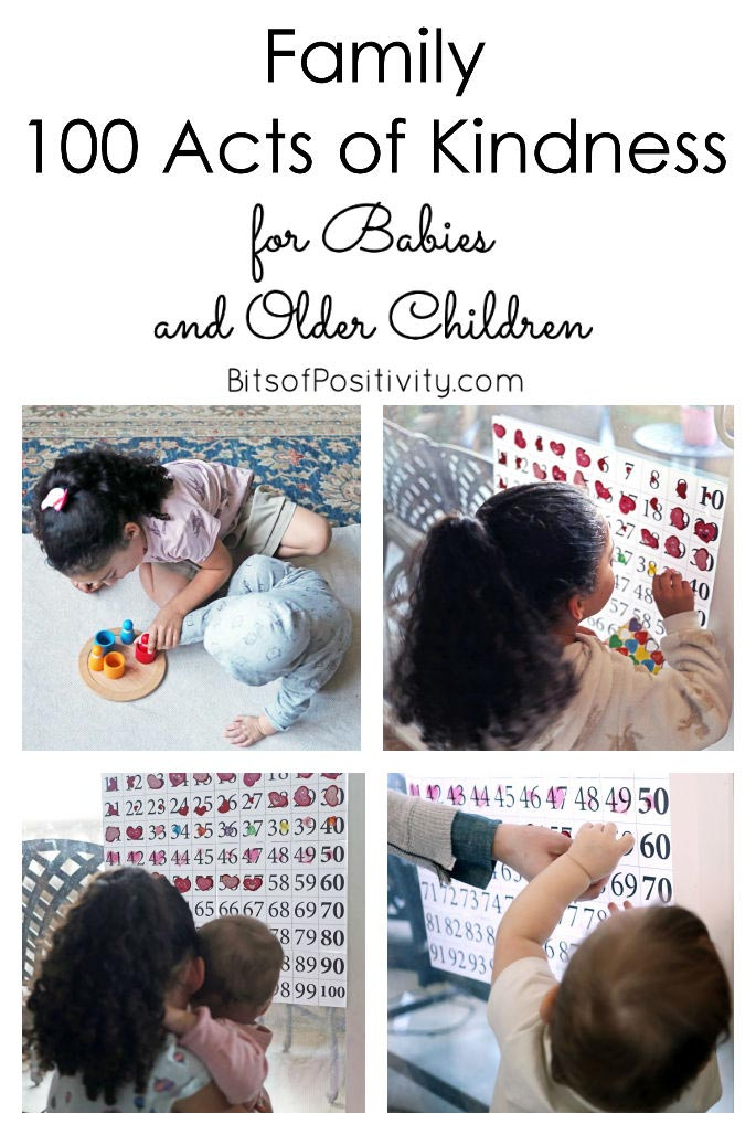 Family 100 Acts of Kindness for Babies and Older Children