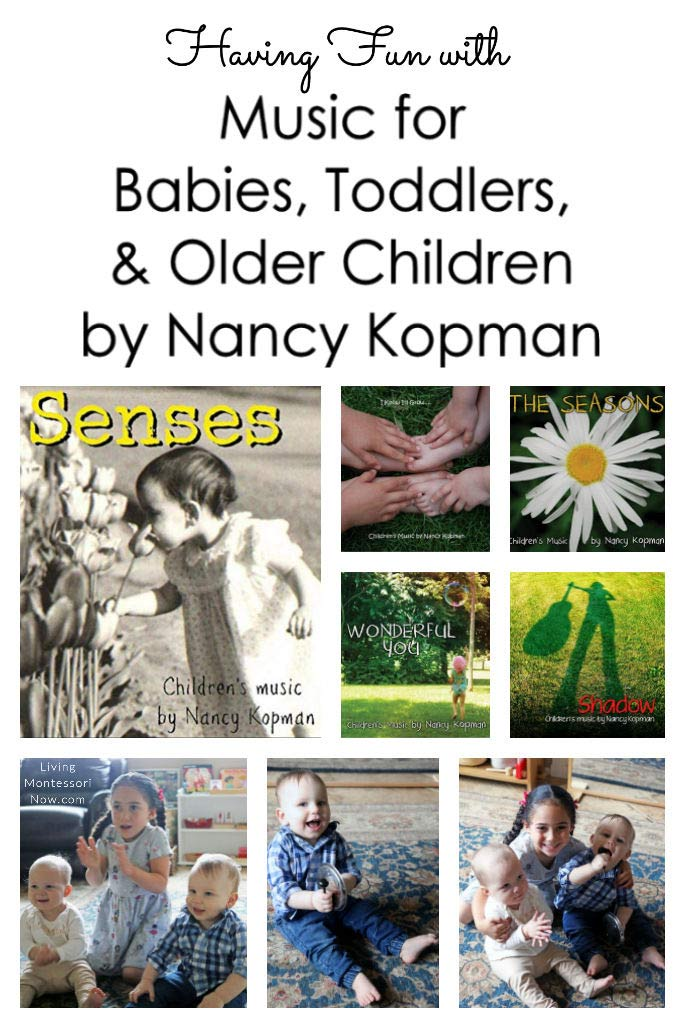Having Fun with Nancy Kopman's Music for Babies, Toddlers, and Older Children