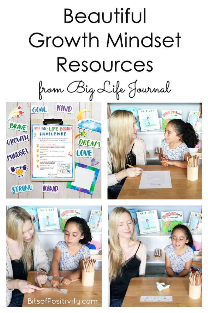 Beautiful Growth Mindset Resources from Big Life Journal