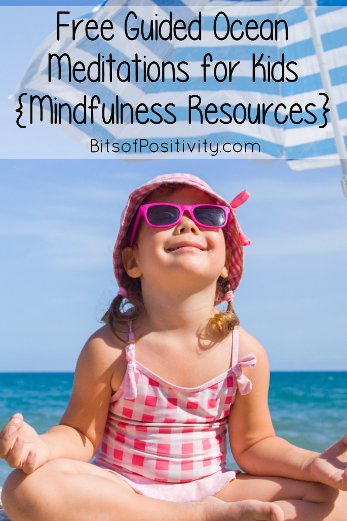 free Guided Ocean Meditations for Kids {Mindfulness Resources}