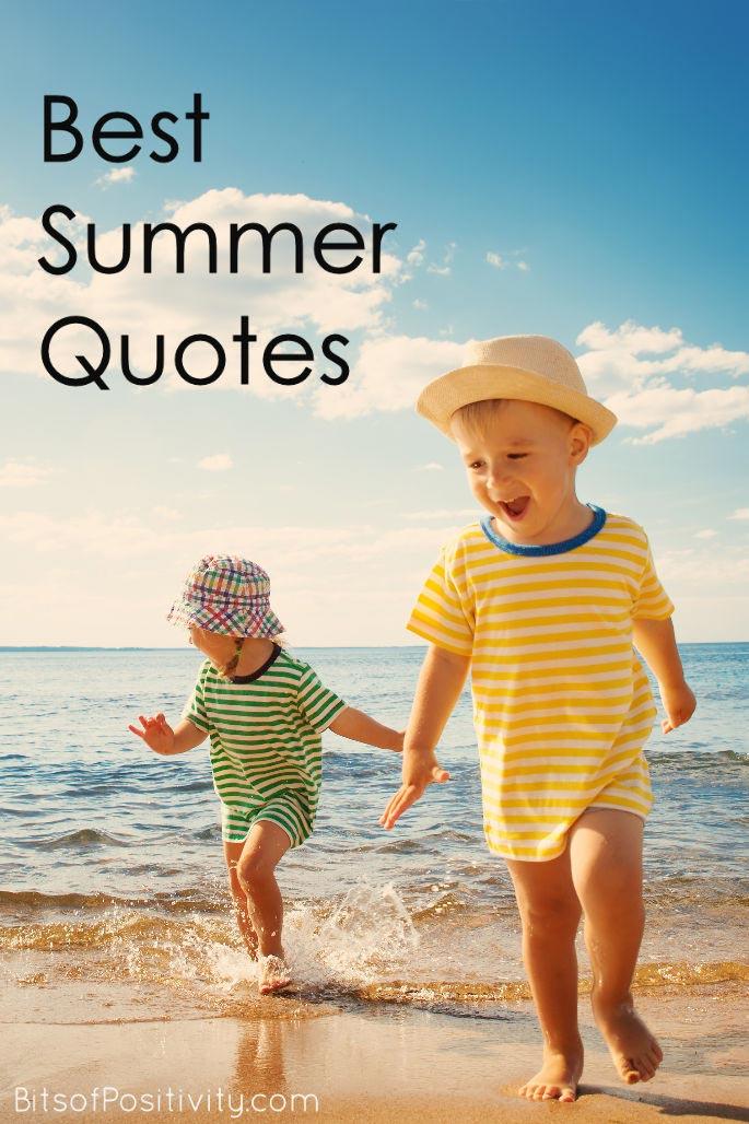 Best Summer Quotes {Favorite Seasonal Inspiration}