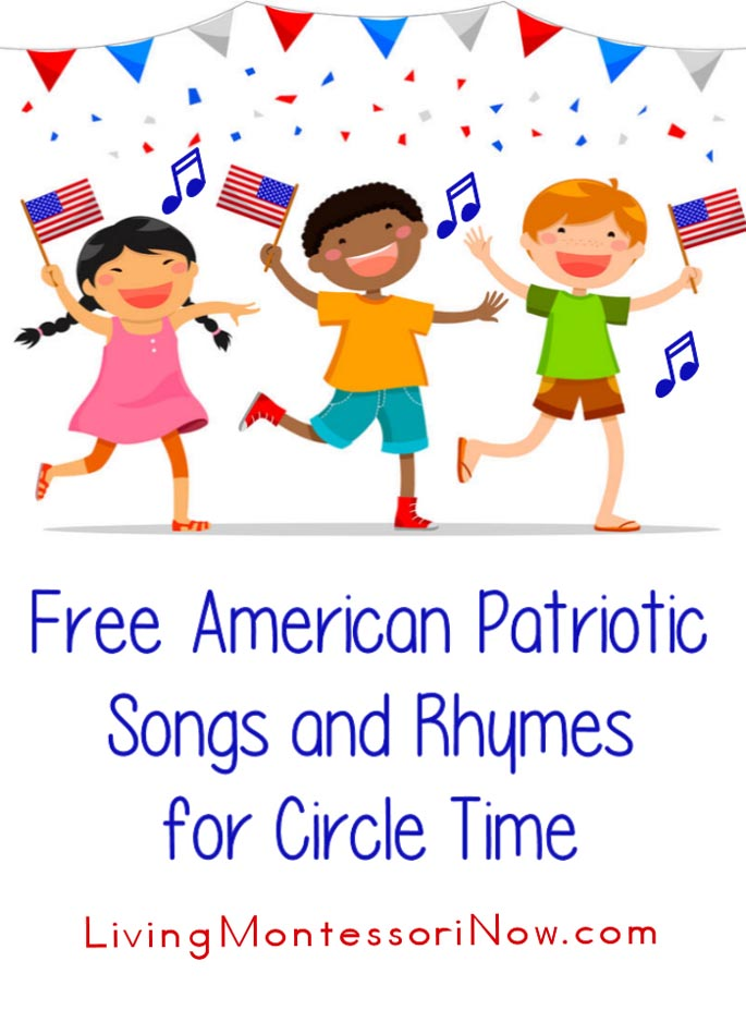 Free American Patriotic Songs and Rhymes for Circle Time