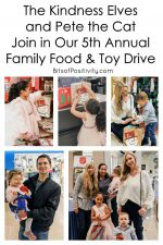 The Kindness Elves and Pete the Cat Join Our 5th Annual Family Food and Toy Drive