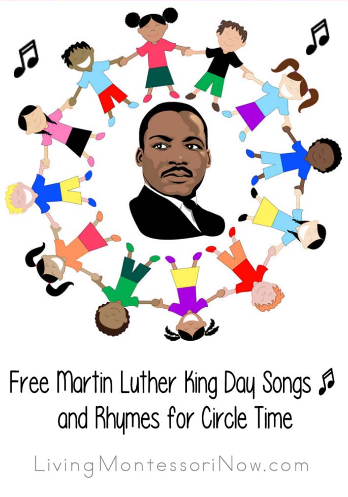 Free Martin Luther King Day Songs and Rhymes for Circle Time