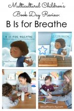 Multicultural Children's Book Day Review: B is for Breathe: The ABCs of Coping with Fussy and Frustrating Feelings