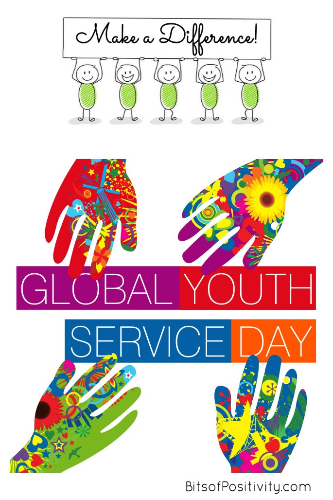 Make a Difference - Global Youth Service Day