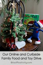 Our Online and Curbside Family Food and Toy Drive