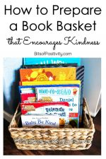 How to Prepare a Book Basket That Encourages Kindness