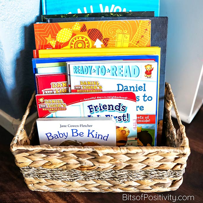 Kindness Book Basket