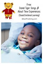 Free Daniel Tiger Songs about New Experiences {Social Emotional Learning}
